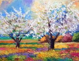 peinture de nature